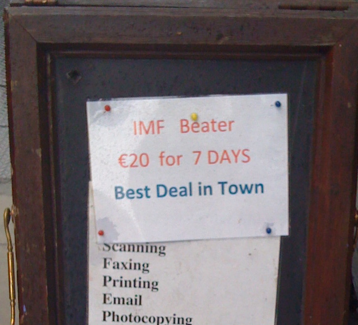 IMF and Rathmines
